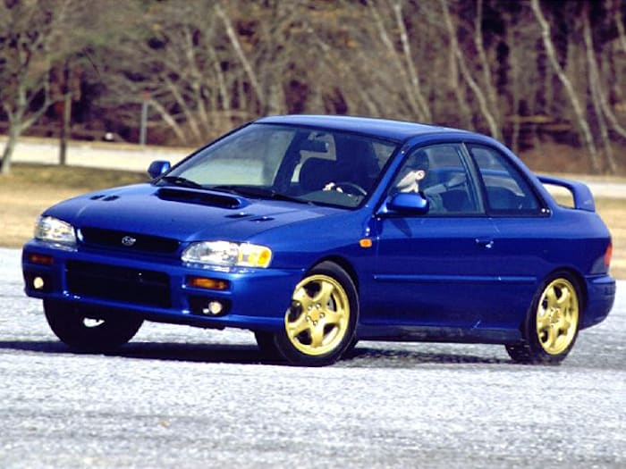 1999 subaru impreza 2 5rs 2dr 4wd coupe for sale. Black Bedroom Furniture Sets. Home Design Ideas