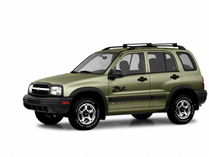2003 Chevrolet Tracker Hard Top Zr2 4dr 4x4 Hardtop