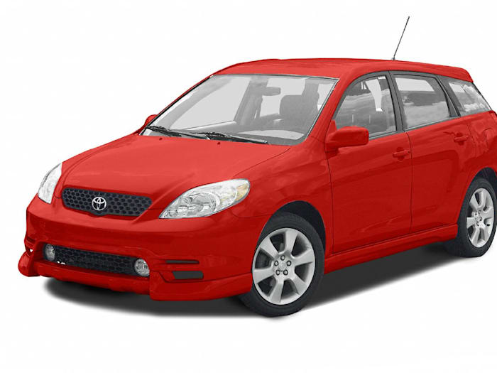 2003 toyota matrix xrs front wheel drive hatchback specs and prices. Black Bedroom Furniture Sets. Home Design Ideas