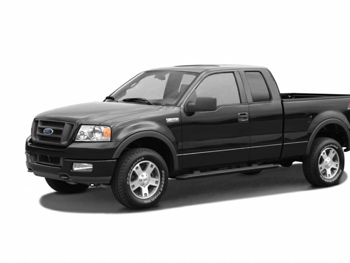 2004 ford f 150 stx 4x4 super cab styleside 6 5 ft box 145 in wb pricing and options. Black Bedroom Furniture Sets. Home Design Ideas