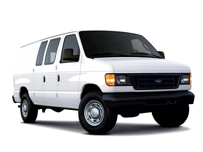 2005 ford e 350 super duty commercial cargo van pricing and options. Black Bedroom Furniture Sets. Home Design Ideas