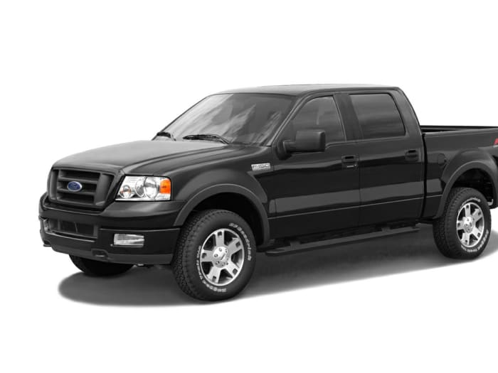 2006 ford f 150 supercrew lariat 4x4 styleside 6 5 ft box. Black Bedroom Furniture Sets. Home Design Ideas