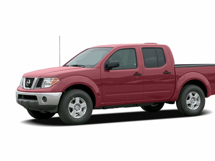 2006 nissan frontier se 4x2 crew cab 125 9 in wb for sale. Black Bedroom Furniture Sets. Home Design Ideas
