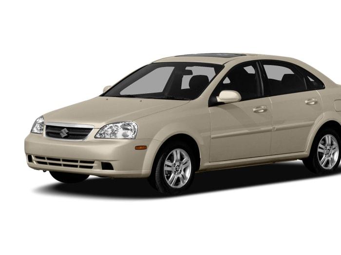 2004-2008 Suzuki Forenza 4DR Sedan Passenger Rear Right Side Door Window Glass