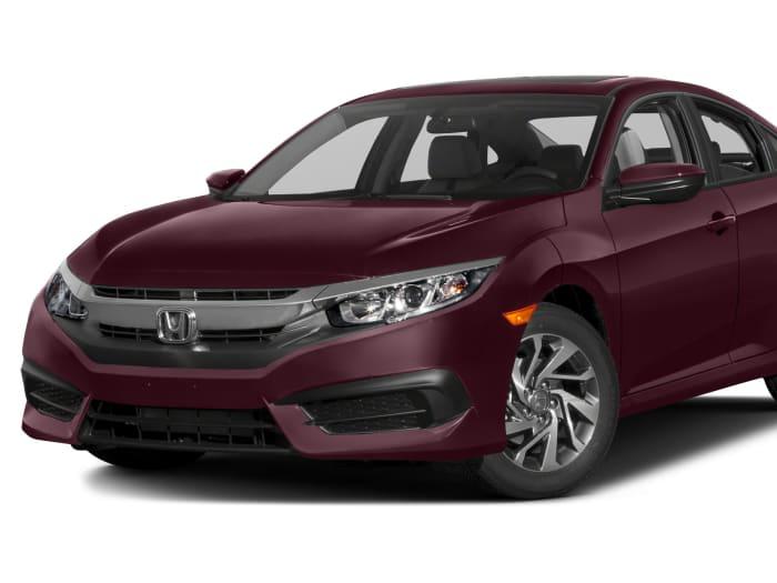 2016 honda civic ex 4dr sedan specs and prices for Honda civic 2016 dimensions