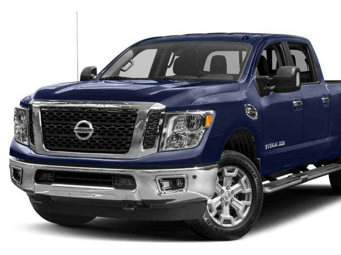 2017 nissan titan xd sv diesel 4dr 4x2 crew cab 6 6 ft box 151 6 in wb pricing and options. Black Bedroom Furniture Sets. Home Design Ideas