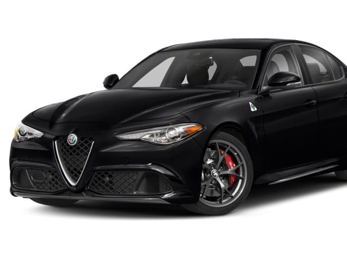 2018 Alfa Romeo Giulia Quadrifoglio 4dr Rear-wheel Drive