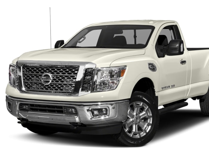 2017 nissan titan xd sv diesel 2dr 4x4 single cab 8 ft box 139 8 in wb pricing and options. Black Bedroom Furniture Sets. Home Design Ideas