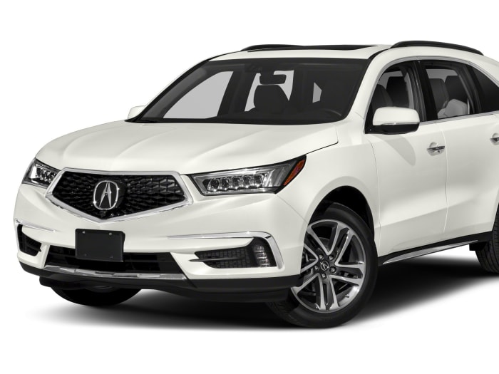 2018 Acura Mdx 3 5l W Advance Package 4dr Front Wheel