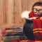this harry potter baby photo shoot is magically adorable