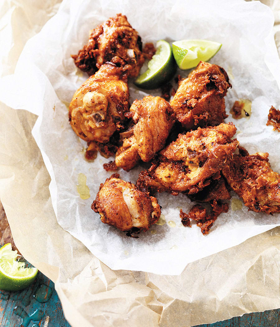This crispy fried chicken has the perfect balance of salty, zesty and