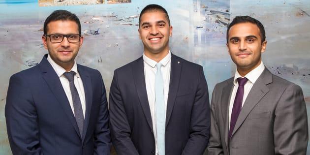 Sydney doctors Raghav Murali-Ganesh, Nikhil Pooviah and Rahul Gokarn developed the CancerAid