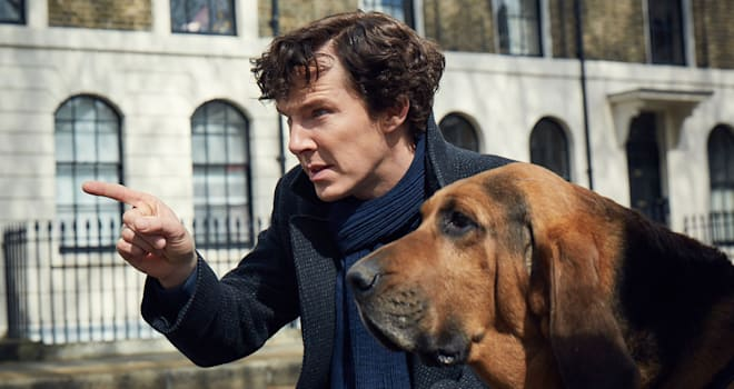 Picture shows: Sherlock (BENEDICT CUMBERBATCH)