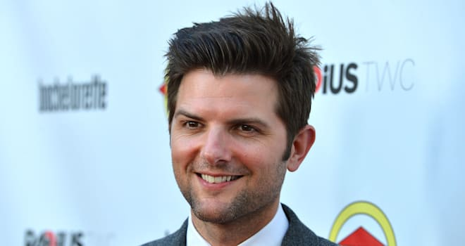 Adam Scott at the Premiere of 'Bachelorette' on August 23, 2012, in Hollywood
