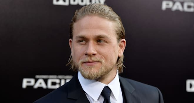 Charlie Hunnam at the 'Pacific Rim' Premiere in Hollywood on July 9, 2013