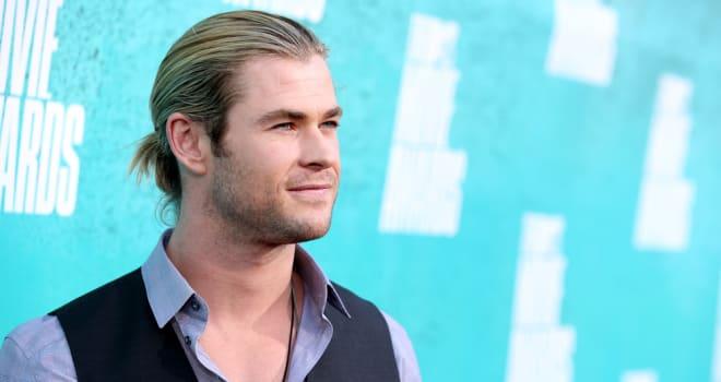 Chris Hemsworth at the 2012 MTV Movie Awards