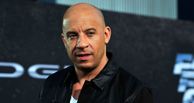 Vin Diesel at the Hollywood Premiere 'Fast & Furious 6' on May 21, 2013