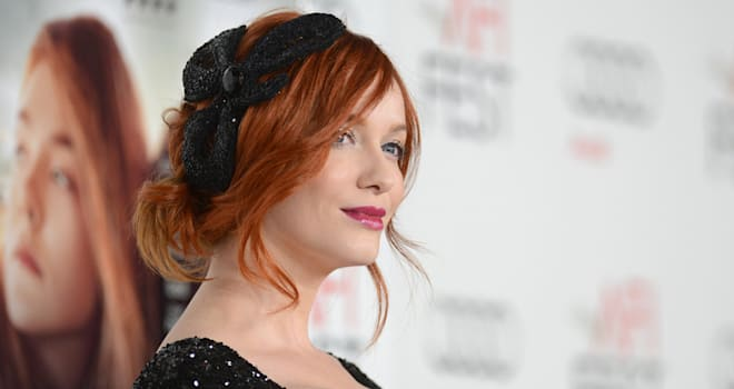 Christina Hendricks at AFI Fest 2012