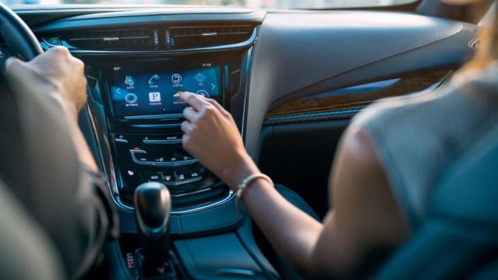 2016 Cadillac ELR dashboard