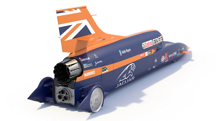 Bloodhound SSC rear view