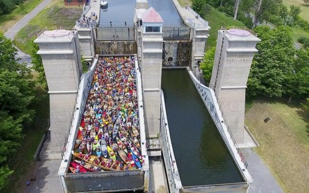 Peterborough, Ont. Kayakers Break Record For Canada