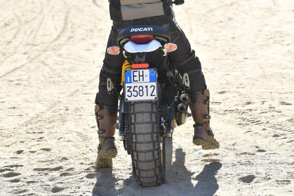 DUCATI Scrambler Desert Sled Cancel