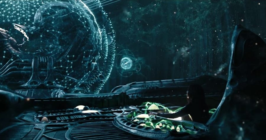 Alien: Covenant prologue film shows what happened after Prometheus