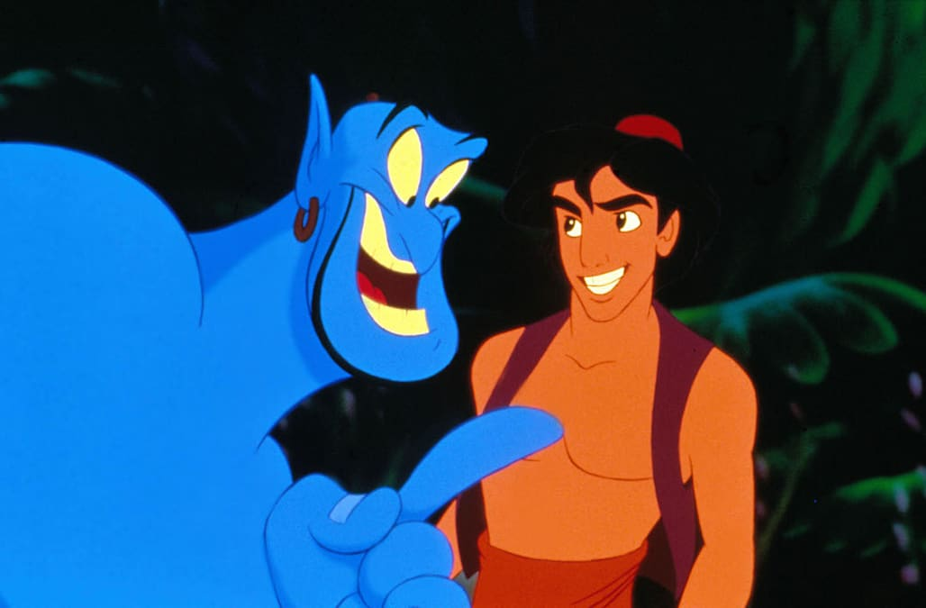 BKA3AR ALADDIN (ANI - 1993) ANIMATED CREDIT DISNEY ALA 003