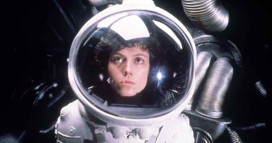 Alien (1979)Directed by Ridley ScottShown: Sigourney Weaver