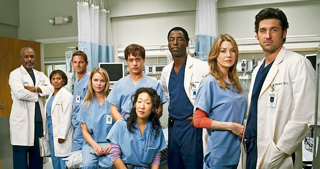 grey's anatomy, season 1, original characters, meredith, meredith grey, ellen pompeo, bailey, richard, alex, karev, webber
