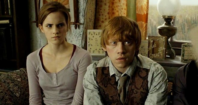 Rupert grint thinks ron would 39 ve divorced hermione by now - Ron weasley and hermione granger kids ...