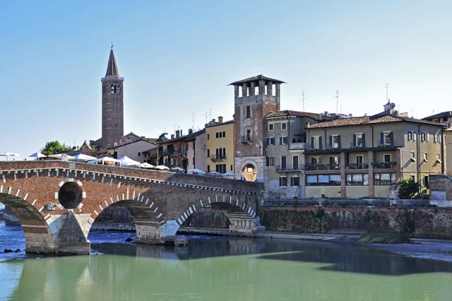 Verona old bridge