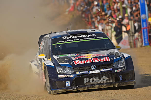 Andreas Mikkelsen (NOR), Ola Fløene (NOR)Volkswagen Polo R WRC (2015)WRC Rally Mexico 2015