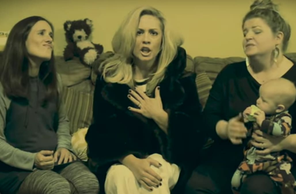 Adele parody receives the stressed out mom treatment with