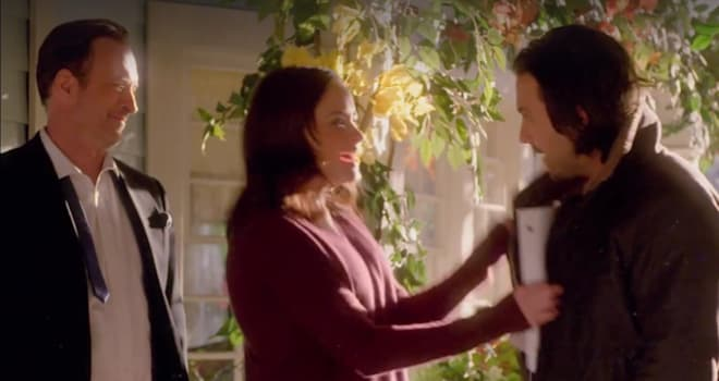 gilmore girls, a year in the life, jess, rory, luke