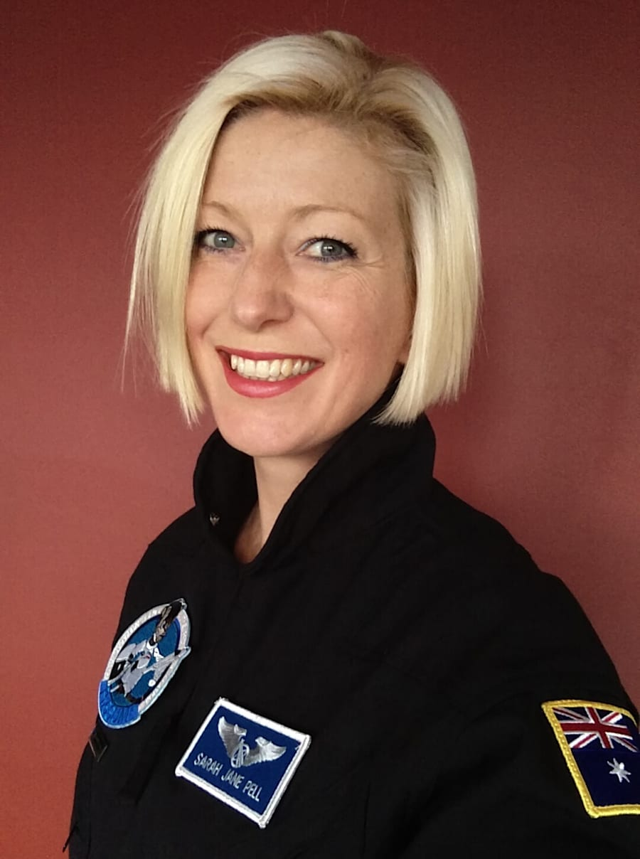 Dr Pell is an artist-astronaut whose speciality is performances and art in extreme