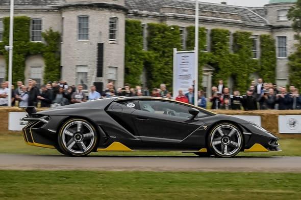 Lamborghini Centenario  Goodwood Festival of Speed 2017
