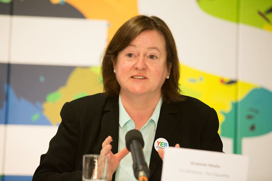 Dr Grainne Healy, co-director of Ireland's Yes Equality