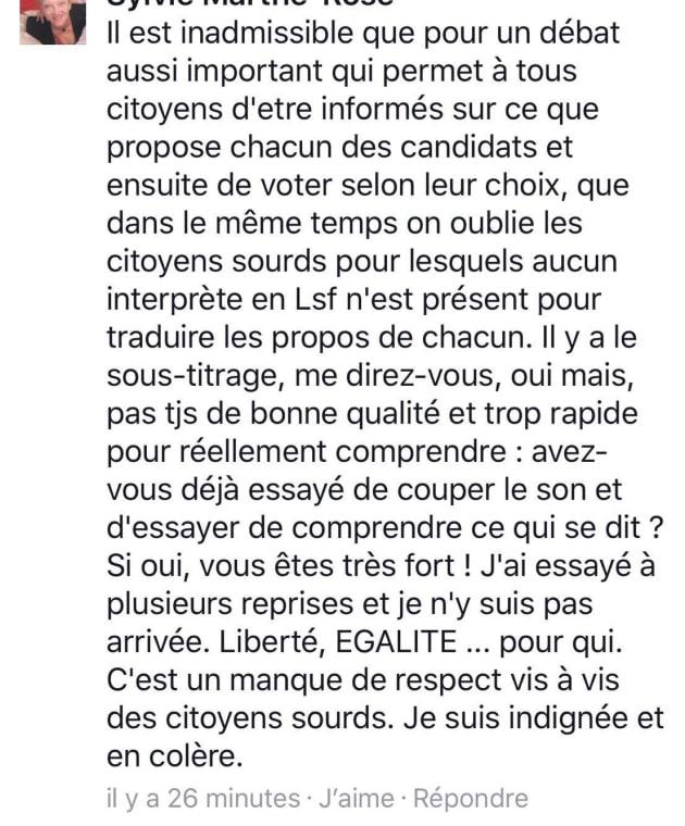 Le premier débat de la présidentielle sur TF1 a irrité les sourds, mais ils ne s'avouent pas