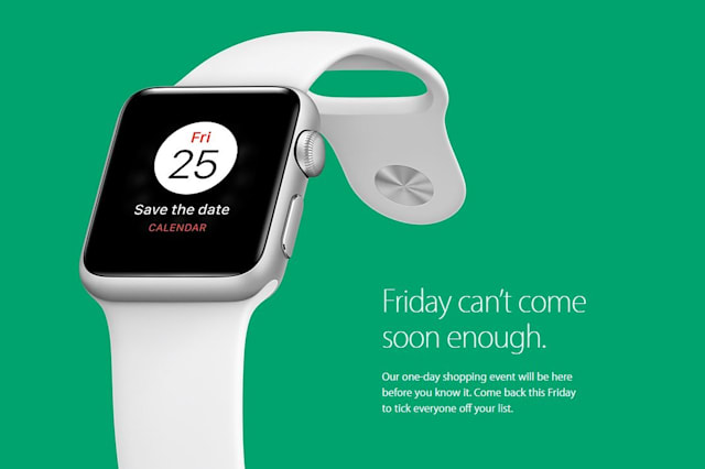Apple will be joining in on Black Friday 2016