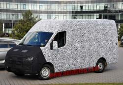 Hyundai commercial van