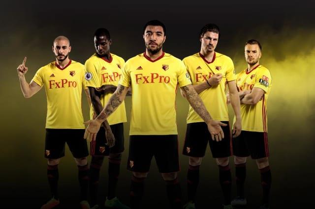 Watford FC kit 2017/18