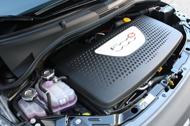 2013 Fiat 500e electric motor