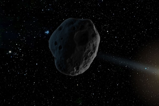 Massive asteroid to enter Earth's atmosphere next week