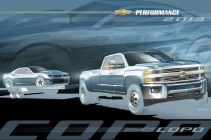 Silverado HD Dually tow vehicle