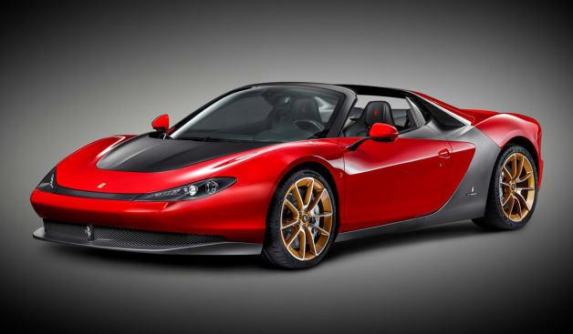 Ferrari Sergio - Pininfarina - production car