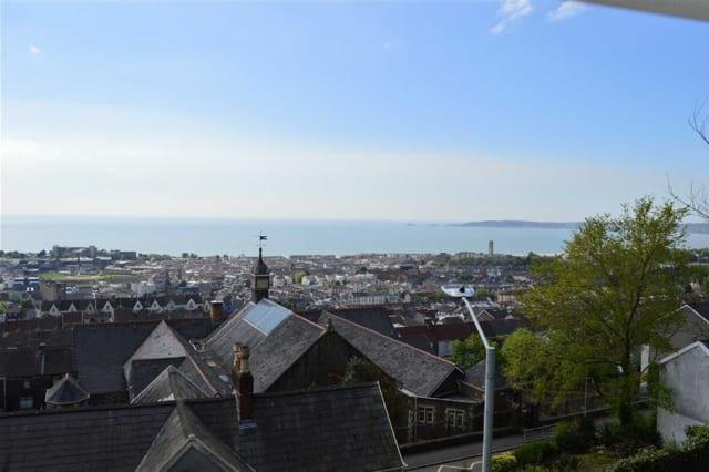 The view across Swansea