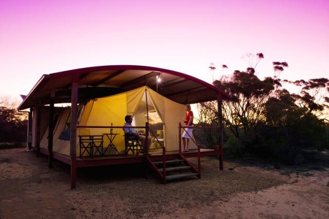 Kangaluna Camp, Gawler Ranges