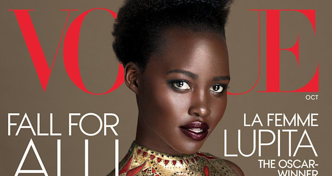 lupita nyong'o, star wars, the force awakens, vogue