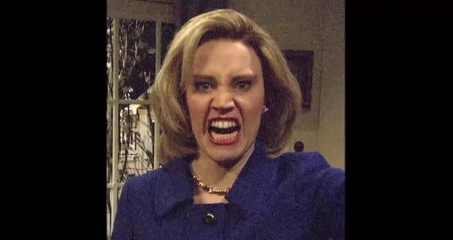 Kate McKinnon, Hillary Clinton, SNL